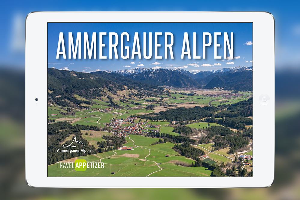 Tourismus-App Ammergauer Alpen