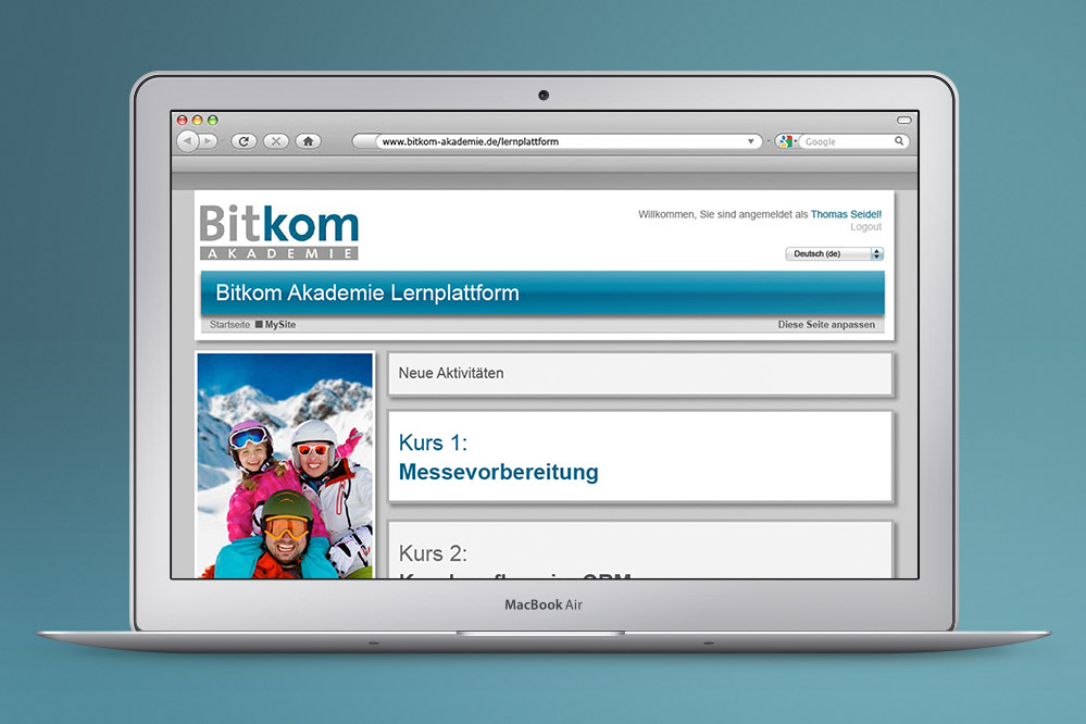 E-Learning Bitkom Moodle