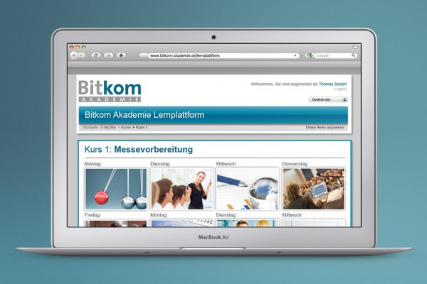E-Learning Bitkom Moodle