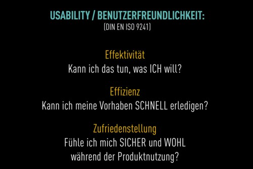 Usability Din-Norm
