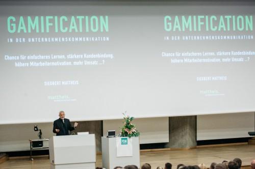 Gamification Vortrag FOM Siegbert Mattheis