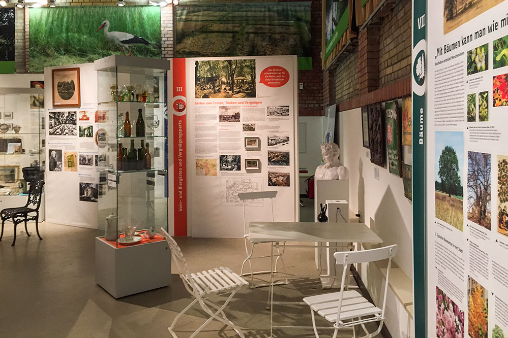 Ausstellungsdesign Museum Pankow