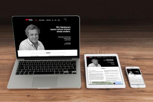 Webdesign Weine aus Katalonien